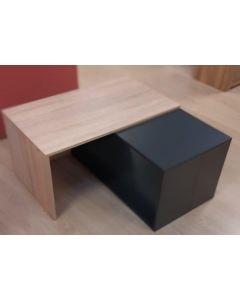 TABLE BASSE NATUREL ANTHRACITE